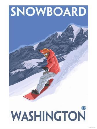 Snowboarding, Washington