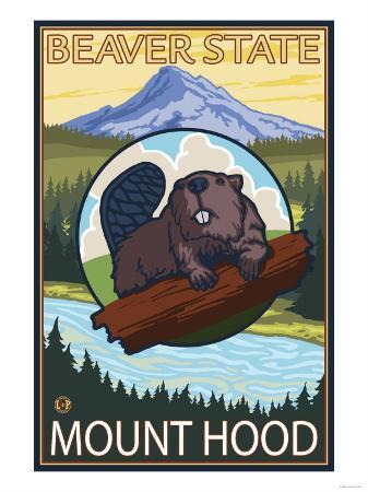 Beaver & Mt. Hood, Oregon