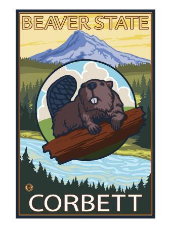 Beaver & Mt. Hood, Corbett, Oregon