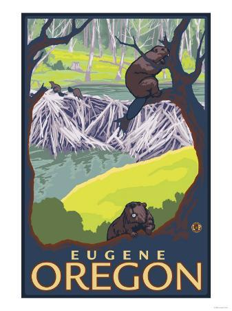 Beaver Family, Eugene, Oregon