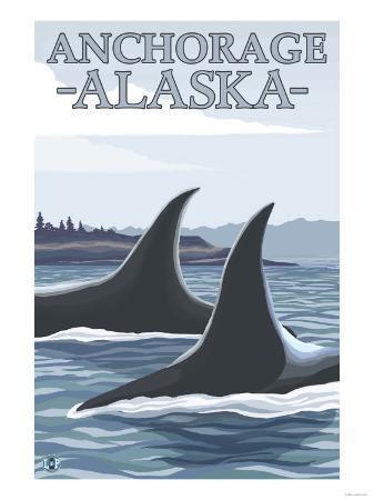 Orca Whales No.1, Anchorage, Alaska