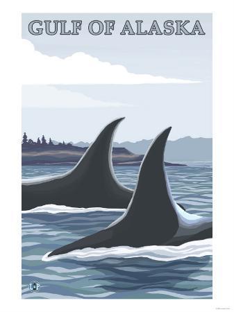 Orca Whales No.1, Gulf of Alaska