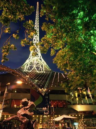 Victoria Arts Centre and Spire, Melbourne, Victoria, Australia, Pacific