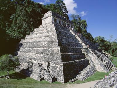 Temple of the Inscriptions, Palenque, Unesco World Heritage Site, Chiapas, Mexico, Central America