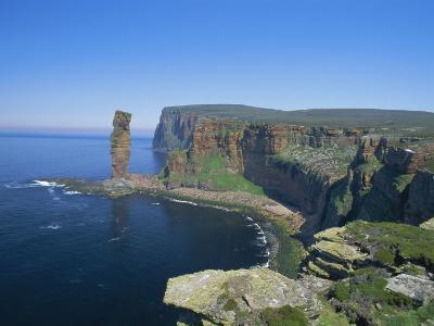 The Old Man of Hoy, 150M Sea Stack, Hoy, Orkney Islands, Scotland, UK, Europe
