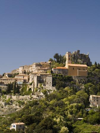 Eze Village, Alpes Maritimes, Provence, Cote d'Azur, French Riviera, France, Europe