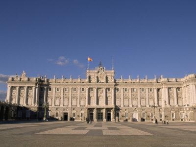 Palacio Real (Royal Palace), Madrid, Spain, Europe