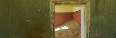 Interior of German House in the Deserted Mining Town of Kolmanskop