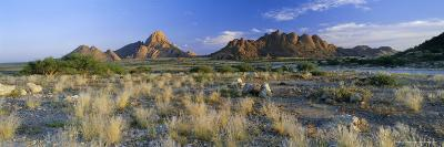 Panoramic View, Spitzkoppe, Namibia, Africa