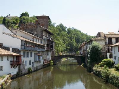 Saint Jean Pied De Port, Basque Country, Pyrenees-Atlantiques, Aquitaine, France