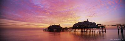 The Derelict West Pier, Brighton, East Sussex, Sussex, England, UK, Europe