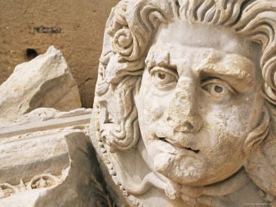 Medusa Head, Forum, Leptis Magna, Libya, North Africa