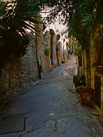 Street Scene, St. Paul de Vence, France