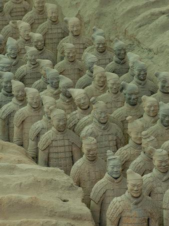 Terra Cotta Warriors and Horses Dig, Xi'an, Shaanxi Province, China
