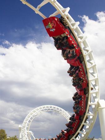 Rollercoaster, Sea World, Gold Coast, Queensland, Australia