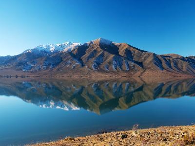 Lake Benmore in Winter, Waitaki Valley, South Island, New Zealand