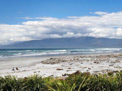 Beach at Westport, West Coast, South Island, New Zealand