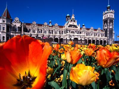 Historic Dunedin Railway Station, New Zealand