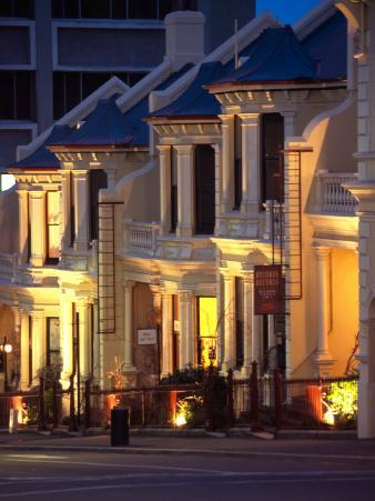 Terrace Houses, Stuart Street, Dunedin, New Zealand