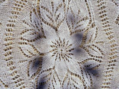 Traditional Lace Tablecloth, Nessebur, Bulgaria