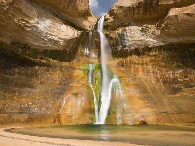 Lower Calf Creek Falls, Grand Staircase Escalante National Monument, Utah, USA