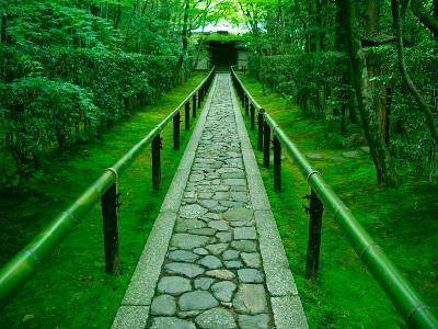 Zen Garden, Kyoto, Japan