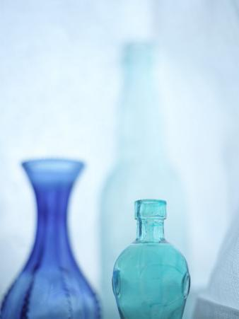 Turquoise Vases I