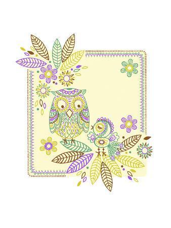 Friendly Owl Batik