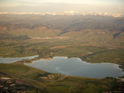 Boulder Reservoir Sits near Boulder Along the Rocky Mountains, Colorado