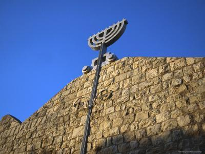 Israel: Side of a Jewish Temple