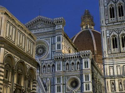 Duomo, Exterior, Night, Florence, Italy