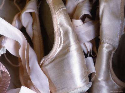 Heap of Ballet Shoes at Ballerina Camp, Aspen, Colorado
