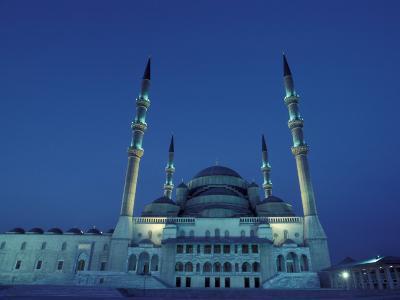 Kocatepe Cami Mosque in Ankara, Turkey
