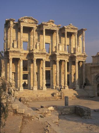 Library of Celsius in Ephesus, Turkey