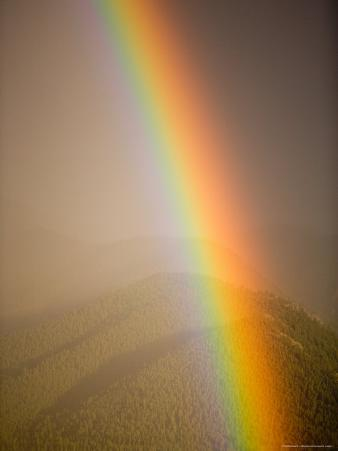Rainbow after a Summer Storm, Colorado