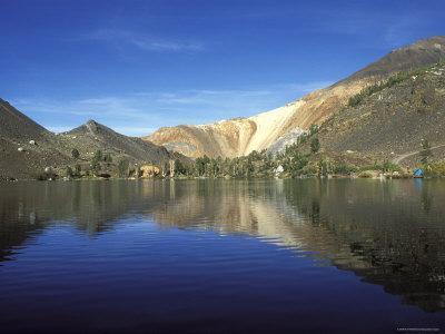 Laurel Lake, A High Sierra Alpine Lake in Inyo National Forest, California