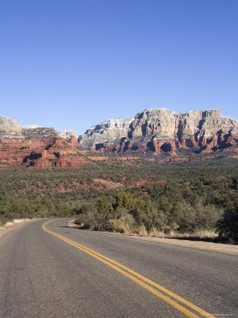 Road in Sedona Arizona, USA