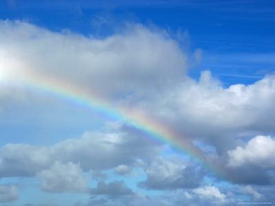 Rainbow in a Cloudy Sky, Hawaii