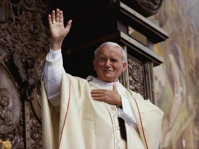 Pope John Paul II Celebrates Mass Before a Crowd of over 750,000 Gdansk in June, 1987