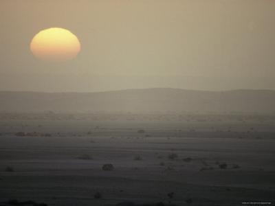 Sunset over the Blistering Namib, The World's Oldest Desert
