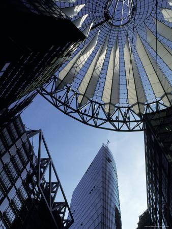 The Sony Forum European Headoffice Designed by Helmut Jahn in Berlin, Germany