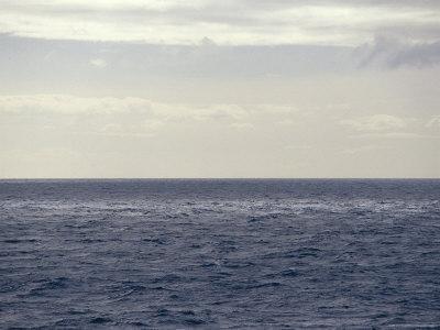 Vast Ocean in Dappled Shadow and Light, Bass Strait, Australia