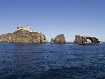 West Anacapa Island in the Channel Islands National Park, California