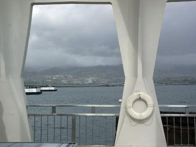 View Off the Monument of Pearl Harbor, Hawaii