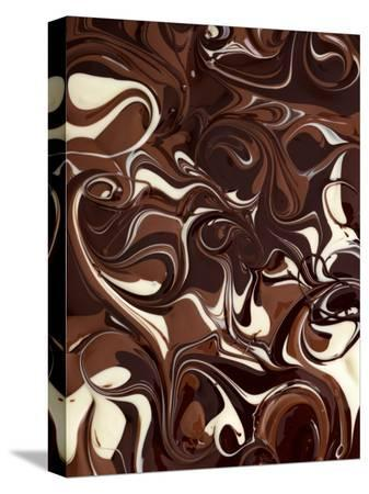 Mixed Melted Chocolate