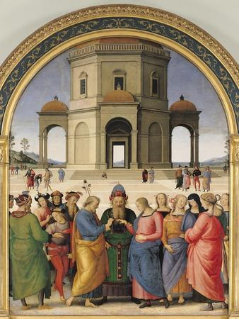 The Marriage of the Virgin, 1500-04