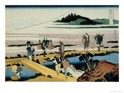 36 Views of Mount Fuji, no. 40: Nakahara in the Sagami Province