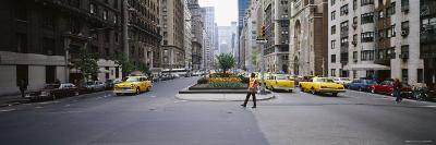Traffic on the Road in a City, Park Avenue, Manhattan, New York City, New York, USA,