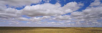 Clouds over a Landscape, North Dakota, USA