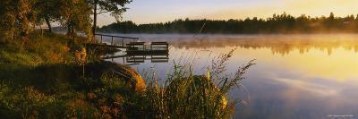 Reflection of Sunlight in Water, Vuoksi River, Imatra, Finland